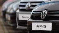 Die Käufe von neuen Dieselautos sind wieder rückläufig.