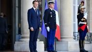 Von Salvini angegriffen: Frankreichs Präsident Emmanuel Macron