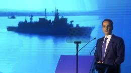 Griechenland rüstet Militär auf