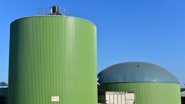 Biogas-Anlage in Thüringen