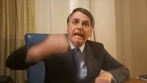 Bolsonaro flippt in Youtube-Video aus