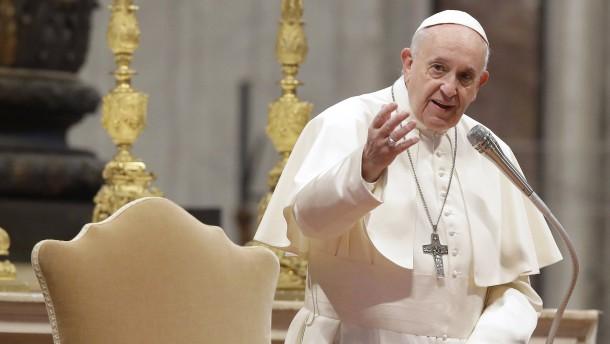 Das fordert der Papst
