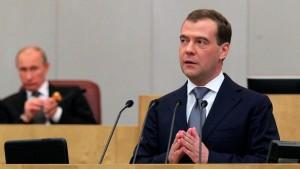 Medwedjew von Duma als Ministerpräsident bestätigt