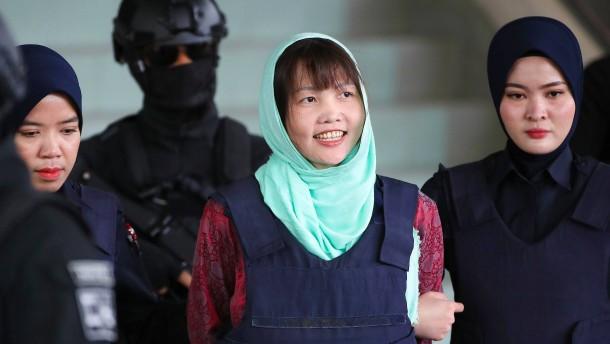 Kim-Attentäterin zu Haftstrafe verurteilt