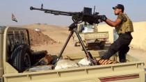 Irakische Kämpfer drängen die Terrormiliz IS zurück.