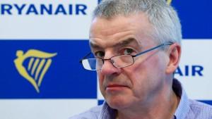 Ryanairs Versäumnis