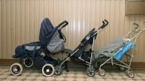 Tagsüber dürfen Eltern den Kinderwagen im Hausflur parken, abends muss er aber in die Wohnung.