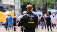 Unter Aufsicht: Die Polizei gibt an, die Situation gut im Blick zu haben. (Symbolbild)
