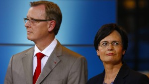 Ramelow schlägt Lieberknecht als Übergangsregierungschefin vor