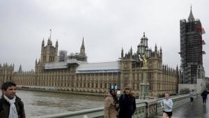Westminster wird komplett saniert