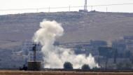 Neue Luftangriffe auf IS-Stellungen in Kobane