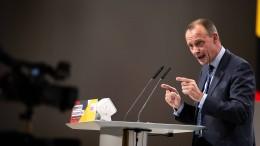 Merz will Erneuerung der CDU