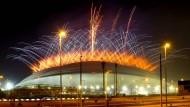 Das Al-Wakrah-Stadion südlich von Doha