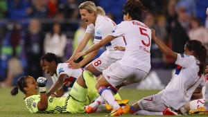 Wieder triumphieren Lyons Fußballfrauen
