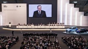 BMW-Chef schafft es an die Spitze des Aufsichtsrats
