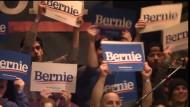 Anhänger von Bernie Sanders