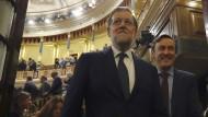 Rajoy gewinnt Vertrauensabstimmung in Spaniens Parlament
