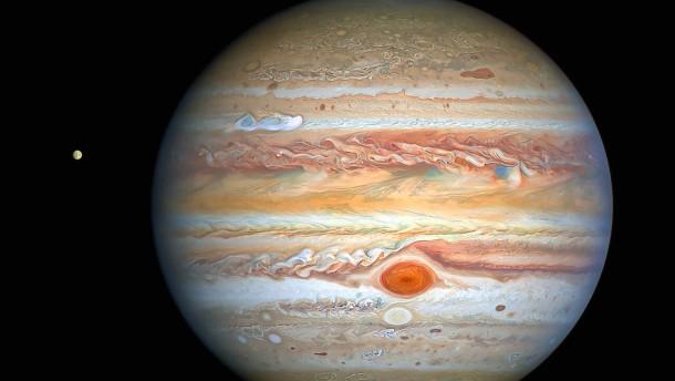 Beeindruckende Aufnahmen des Planeten Jupiter