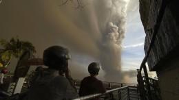2000 Menschen wegen Vulkanaktivität in Sicherheit gebracht