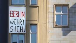 Mehrheit der Deutschen hält Enteignungen für falsches Mittel