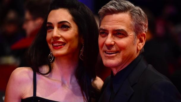 Zwillinge für die Clooneys