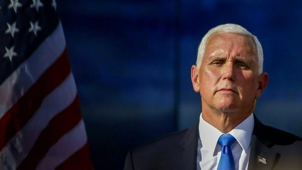 Pence will Amtszeit gemeinsam mit Trump erfüllen