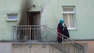 Der Imam und seine Familie befanden sich zum Zeitpunkt des Anschlags im Haus. Verletzt wurden sie nicht (Archivfoto).