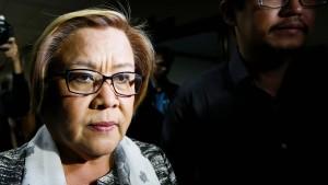 Schärfste Duterte-Kritikerin verhaftet