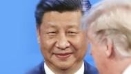 Kurzer Augenkontakt: Xi und Trump auf dem G20-Gipfel in Buenos Aires