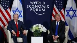Trump droht Palästinensern