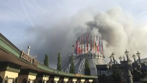 Millionenschaden nach Feuer im Europa-Park