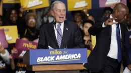 Bloomberg bei Vorwahlen an zweiter Stelle