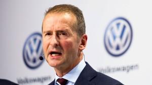 VW streicht seinen Managern individuelle Boni