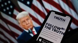 Trump startet eigenes soziales Netzwerk