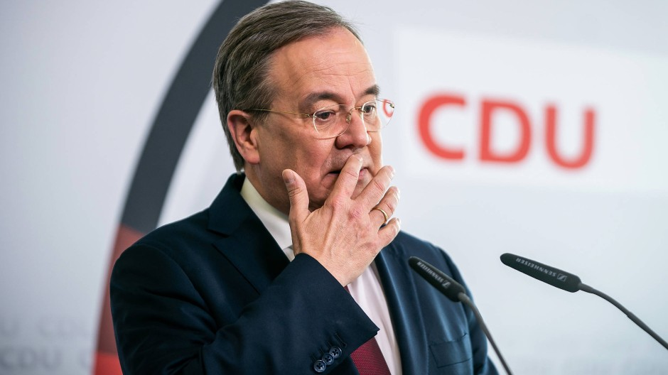 Hat nachgedacht: CDU-Chef Armin Laschet