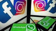 """Wettbewerbspolitik wird wichtiger: """"Eine Übernahme von Instagram oder WhatsApp durch Facebook würde heute nicht durchkommen"""", sagt  Ederer."""