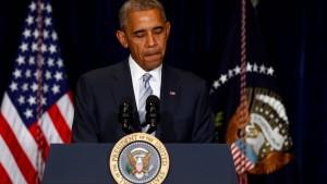 Obama: Das ist ein amerikanisches Thema
