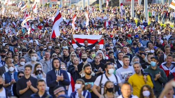"""""""Cyber-Partisanen"""" demaskieren Lukaschenkas Gewalt"""