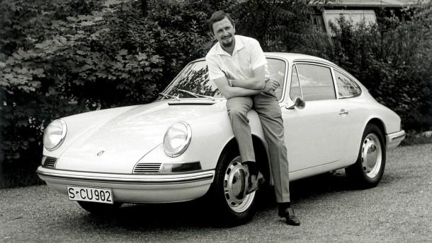 Der Designer und sein berühmtester Wurf: F.A. Porsche 1963