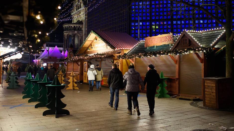 Weihnachtsmarkt am Berliner Breitscheidplatz geräumt