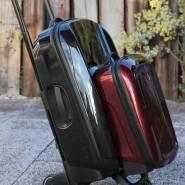 Der Niederländer Max Barenbrug hat mit seinem System den Rollkoffer neu erfunden.