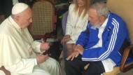 Papst Franziskus trifft Fidel Castro