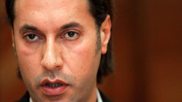 Verwirrung über Schicksal von Gaddafis Sohn