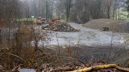Umweltministerium schaut nach Steinen des Anstoßes