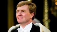 Willem-Alexander schwört auf die Verfassung