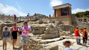 Steuer-Razzia im Palast von Knossos