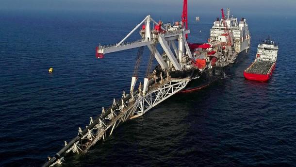 Weiter Ärger um Nord Stream 2