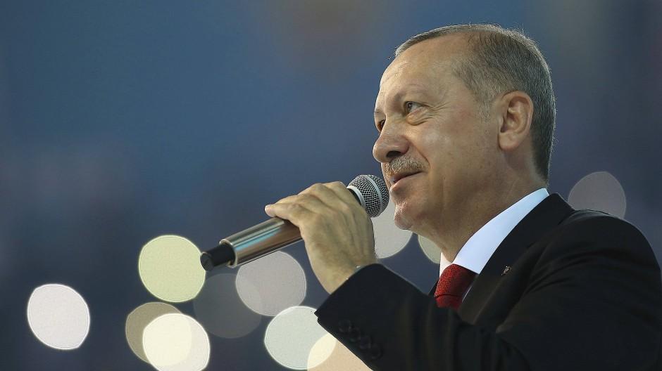 Die Türkei gebe niemals auf