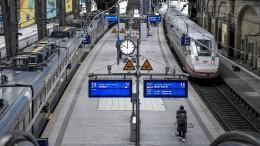 Viele Züge, wenig Fahrgäste