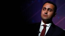 Di Maio tritt als Chef der Sterne-Bewegung zurück